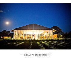 Laura & Stefan - night shot outside the stunning marquee at @pialligoestate in Canberra.  #mckayphotography #pialligoestate  #pialligoestatewedding #canberra #canberrawedding #wedding #photographer @pialligoestate_weddings