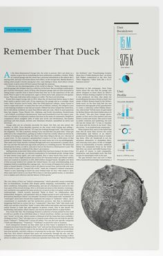 Newspaper Design Inspiration.