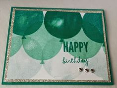 390- PENNY TOKENS STAMPIN SPOT- a fun birthday card made with Stampin' Ups! Celebrate Today stamp set from the Spring Occasions 2015 catalogue.