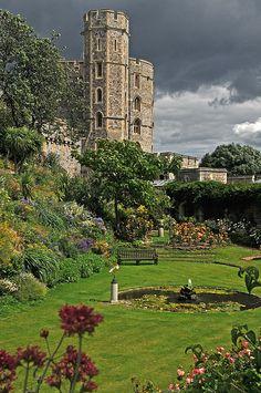 Windsor Castle , Berkshire, England