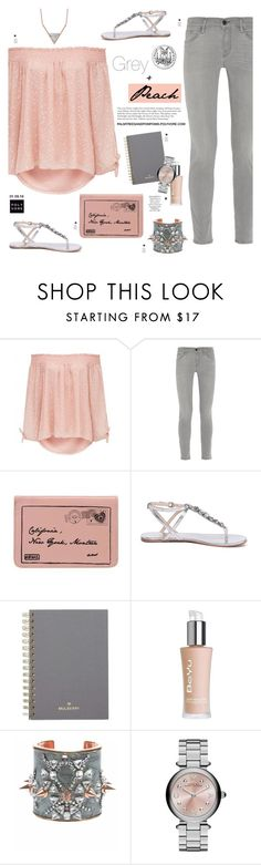 """""""01.09.16 First Day of Spring in Australia / Forever New Pri tie sleeve off shoulder top"""" by palmtreesandpompoms ❤ liked on Polyvore featuring Forever New, Frame Denim, ANS, Siren, Mulberry, BeYu, Bijoux de Famille, Marc Jacobs, frame and netaporter"""