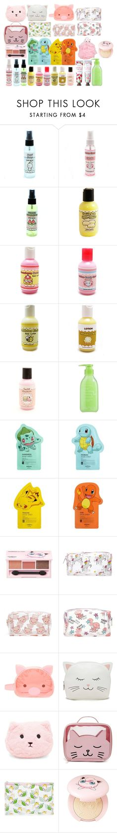 """""""0637. cutie beauty II"""" by hiimmichelle ❤ liked on Polyvore featuring beauty, Cotton Candy, Tony Moly, TONYMOLY, Forever 21 and Etude House"""