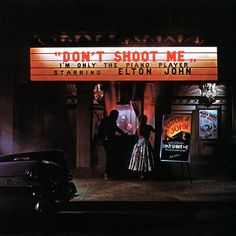 """Don't Shoot Me I'm Only The Piano Player"" (1973, MCA) by Elton John.  Contains ""Crocodile Rock"" and ""Daniel."""