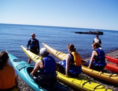 Complimentary kayaking on Lake Superior is included in your stay!