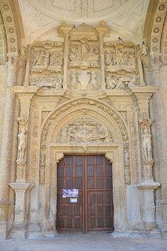 Monestir de la Piedad de Casalarreina  Portico  La Rioja