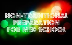 non traditional preparation article