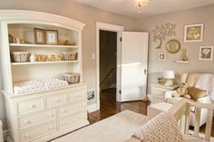 Traditional White and Gold Nursery - Project Nursery