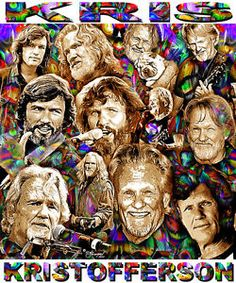 Kris Kristofferson Tribute T Shirt or Print by Ed Seeman | eBay