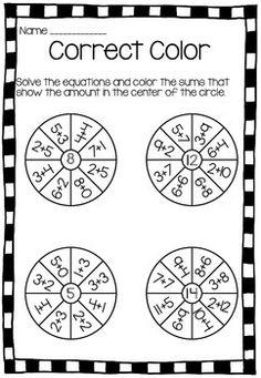 Math Printable Freebies