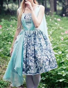 High quality Summer dress in original design with original prints, an Ancient Greek Goddess look, standard and custom sizes doable, providing express shipping