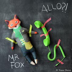 """Zoé's doll """"fox"""""""