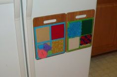 {DIY Project: sensory texture boards}  #sensory