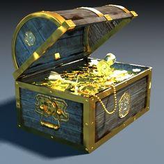 maya treasure chest - treasure chest by rozenkrantz