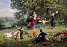 The Sunday Alexei Ivanovich Korzukhin (1835-1894)