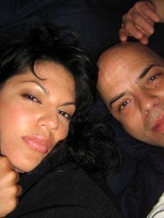 Sara Ramirez e seu melhor amigo (já falecido) o também ator , Al D.Rodriguez