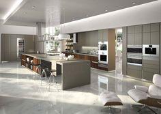 cuisine moderne de design italien Snaidero, Way