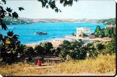 Sevda Tepesinden Küçüksu plajı,kasrı ve Boğaziçi - 1960'lar