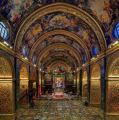 """Il più grande Caravaggio al mondo? E' la """"Decollazione di San Giovanni Battista"""" e si trova a Valletta, all'interno della Concattedrale di San Giovanni, chiesa gioiello del barocco tra le più importanti costruite a Malta."""