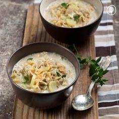 Χυλοπιτάκι σούπα με αυγολέμονο