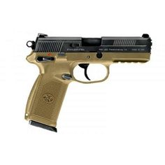 FN FNX-45. This is under my bed right now. Great little hand gun.