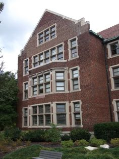 Morgan Hall, 1919, North Facade.