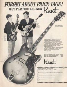 Kent Guitar Ad