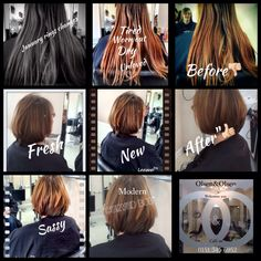 #haircut#2015#chop#off! I love January the feeling that freshness brings , client arrived today tired with hair , so we went chic , sporty classic and great all in one haircut! Next visit we are to work on colour , she left happy and I rejoiced at the challenge x January creates windows in our diary to do things
