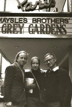 The premier of Grey Gardens at the Paris Theatre in New York.