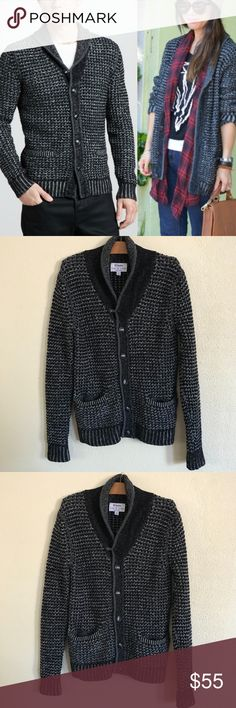 """Rag & Bone x Neiman Marcus x Target wool cardigan Mens cardigan, but a women can def wear it! EXCELLENT condition!   51% Cotton 49% Wool. Size Small.   Armpit to armpit  22"""" Armpit down 19"""" rag & bone Sweaters Cardigan"""