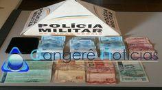 Menor é preso suspeito de passar notas falsas em Campos Gerais-MG