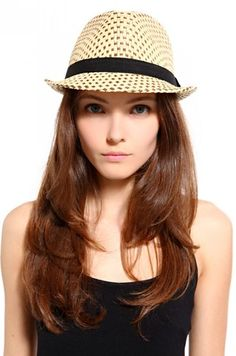 Arc Woven Fedora in Natural