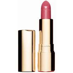 Clarins Joli Rouge (£28) ❤ liked on Polyvore featuring beauty products, makeup, lip makeup, lipstick, beauty, candy rose, womens-fashion, glossy lipstick, lip gloss makeup and moisturizing lipstick