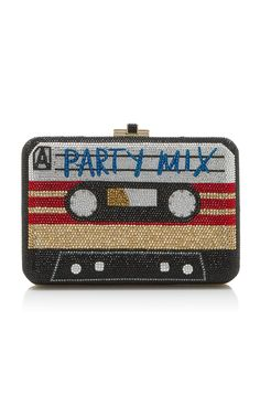 Party Mix Slim Slide Clutch by JUDITH LEIBER COUTURE for Preorder on Moda Operandi