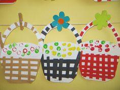 košíky na ovoce Kids And Parenting, Art For Kids, Projects To Try, Preschool, Art Kids