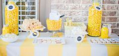 Lemonade Summer Soiree - Lemonade Stand Party - Kara's Party Ideas - The Place for All Things Party