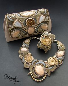 Gallery.ru   Фото  6 - Колье 2015 - Chikineva Bead Embroidery Jewelry, 2954a4629c2