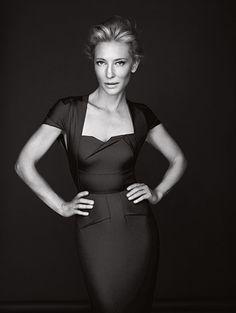Cat Blanchett. © Steven Chee DLM Syndication pour  Télérama