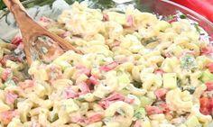 La meilleure salade de macaroni que j'ai fait dans ma vie! Pasta Recipes, Salad Recipes, Cooking Recipes, Healthy Recipes, My Best Recipe, Recipe For 4, Cold Meals, Pasta Dishes, Food Inspiration