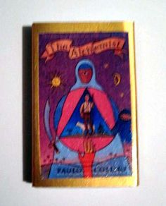 The Alchemist - Book Cover Literary Matchbook