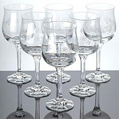 6 vintage gl ser weingl ser geschliffen strahlen schliff kristall weinglas glas different wine. Black Bedroom Furniture Sets. Home Design Ideas