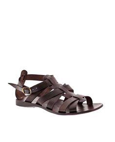 Sandalias ANTICHI ROMANI marrón 1256 Men Sandals, Gladiator Sandals, Leather Sandals, Male Fashion Trends, Mens Fashion, Man Crafts, Man Shoes, Men Stuff, Nike Free Shoes