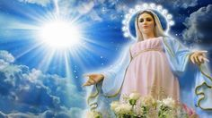 On the road with mary I Love You Mother, Mother Mary, Ave Maris Stella, Jesus Ressuscité, Charles Gounod, Jesus E Maria, Special Prayers, Holy Mary, Art Thou