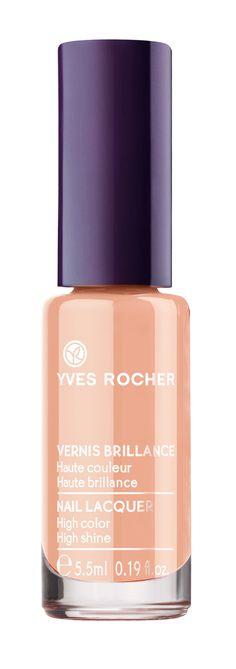 Yves Rocher, Vernis Brillance Rose Nude #vernis #nailpolish