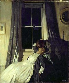 William Orpen - Night | by irinaraquel