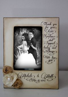 Wedding  Distressed Vintage Picture 4x6 Thank by DeSiLuCoLLecTioN, $48.00