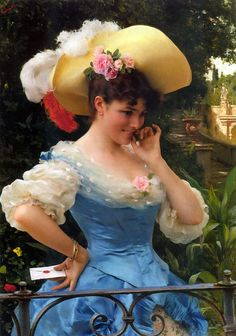 Federico Andreotti  (1847 – 1930)  – The Love Letter: