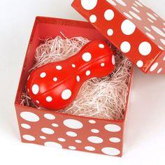 草間彌生 マスコット [Balloon(レッド)] ラムフロム - アートグッズ&デザイングッズの通販サイト -