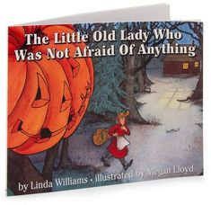 """Blog post about """"The Little Old Lady Who Was Not Afraid of Anything""""--great way to practice the four voices"""