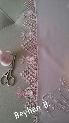 Mekik kelebek oya El ii t Crochet Needlework and Needle Tatting, Tatting Lace, Needle Lace, Bobbin Lace, Filet Crochet, Crochet Doilies, Crochet Lace, Crochet Edging Patterns, Crochet Borders