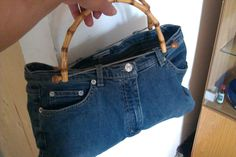 alte Jeans aufpeppen